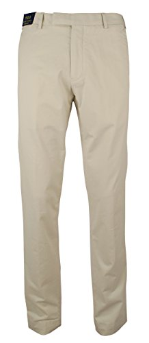 (Polo Ralph Lauren Men's Stretch Slim Fit Chino Pants-BS-40Wx32L)