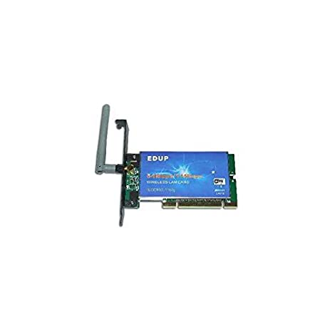 TARJETA RED PCI WIFI 54 MBPS EDUP XP SATYCON: Amazon.es ...