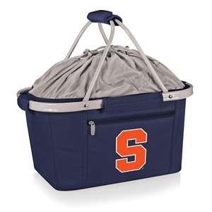 PICNIC TIME NCAA Syracuse Orange Digital Print Metro Basket, One Size, Navy