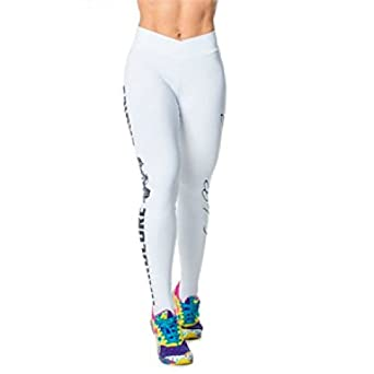 8068cd5804760 Image Unavailable. Image not available for. Color: Labellamafia Yoga Pants  for Women White Clothing Girls - High Waisted Leggings Fitness ...