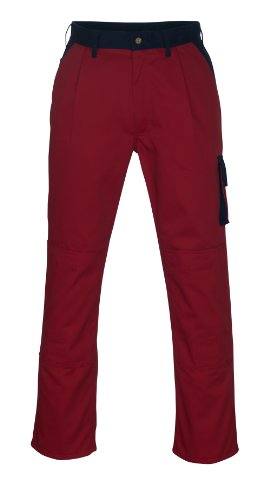 Mascot 00979-430-21-90C56 Torino Pantalon Longueur 90 cm/C56 Rouge/Bleu Marine