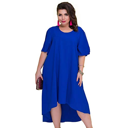 feilongzaitianba Casual Loose Plus Size Summer Dresses Women Irregular Long Dress Big Size Vintage Dress Large Sizes 6XL
