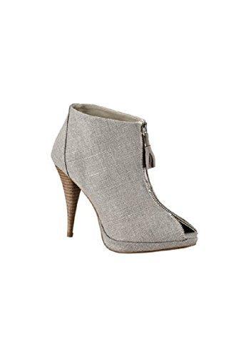 Stiefelette High Heel von Laura Scott Grau