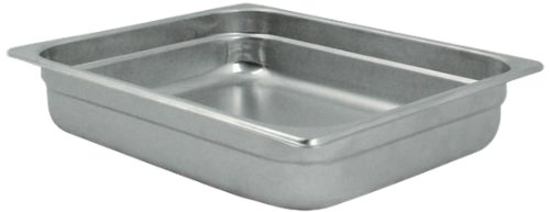 Challenger Pan - Challenger 2122 2-1/2-Inch Pan, Half Size, Silver