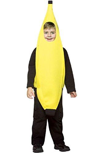 8eighteen Lightweight Banana Child Costume (4-6X) - Banana Curl Wig