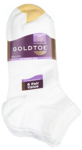 Gold Toe Womens Flat Knit Quarter Sock