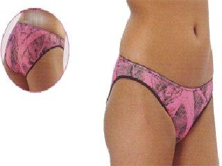 Pantie Camo Weber (Weber Camo Leather Goods Naked North Pantie Pink Camo Medium)
