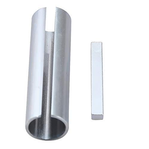 Hoypeyfiy 5/8′ x 3/4′ x 3′ Shaft Adapter Pulley Bore Reducer Sleeve Bushing Sheave & Key