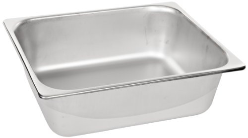Benchmark 56744 Half-Size Solid Pan, 12-1/2'' Length x 10-1/4'' Width x 4'' Height by Benchmark