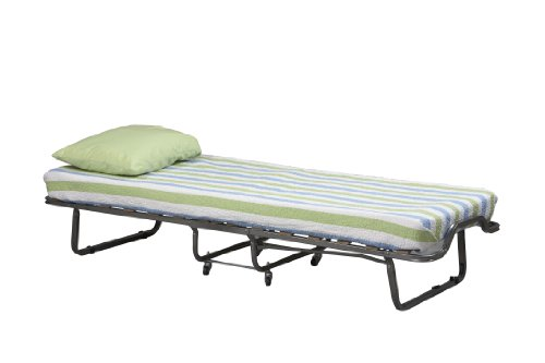 Linon Home Decor Luxor Folding Bed with Memory Foam