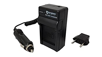 Panasonic Hc-x920 Camcorder Battery Charger (110220v With Car & Eu Adapters) - Replacement Charger For Panasonic Vw-vbn130, Vw-vbn260, & Vw-vbn390 Battery Series 0