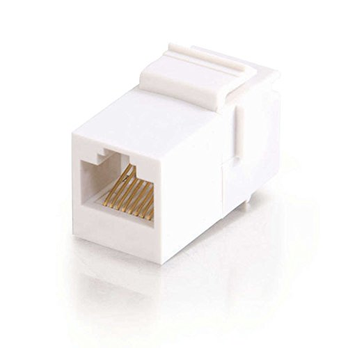 C2G/Cables to Go 03677 RJ45 Coupler Keystone Insert Module