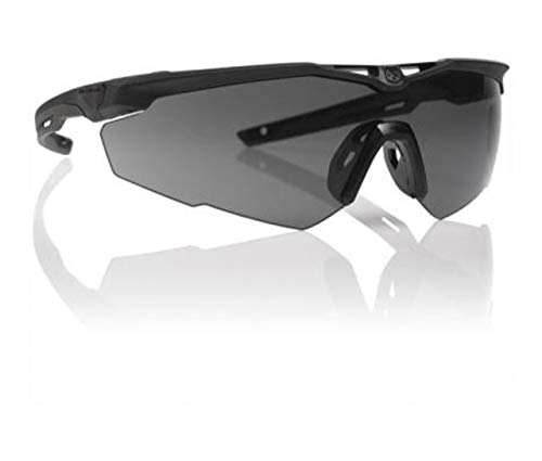(Revision Stingerhawk Military Eye wear Kit With Black Frame Pack of Clear and Smoke Lens)