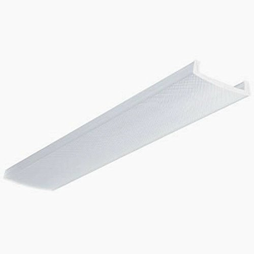 Light Wrap Around Fluorescent (Lithonia Lighting DLB48 Acrylic Diffuser for 2-Light LB Wraparound Series, 4-Feet)