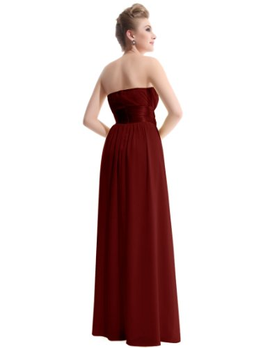 Ever Pretty Empire Waist Bowtie Strapless Evening Dress 09060