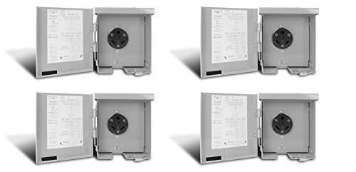 Connecticut Electric CESMPS13HR 30-Amps/120-Volt RV Power Outlet (Pack of 4) by Connecticut Electric (Image #2)