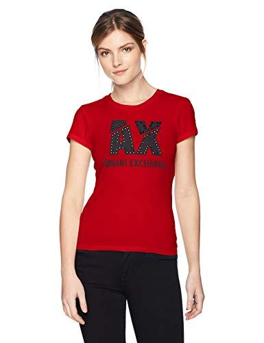 1445 Donna Armani bloody T Rosso Exchange Mary shirt 0qnvwtS
