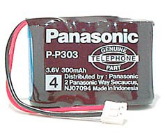 Panasonic P-P303 Original Replacement Power Packs