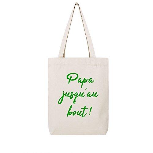 toile Tote jusqu bag natural en papa au recycle bout ppHwqxf