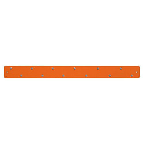 Three By Three Seattle Magnetic Strip Bulletin Board, Orange (31150)
