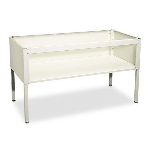 - E-Z Sort Sorting Table Base, 60w x 30d x 28 to 36h, Gray by Safco
