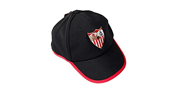 SFC SEVILLA FUTBOL CLUB Gorra 17 Negro: Amazon.es: Hogar
