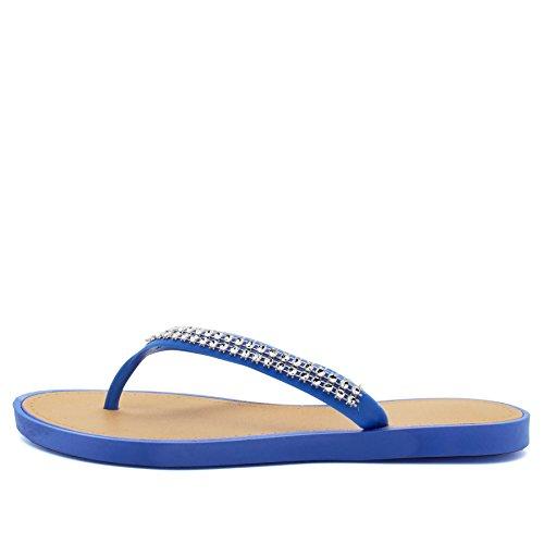 Bleu Ouvertes à femme Footwear l'arrière London 5RXwn7zqp