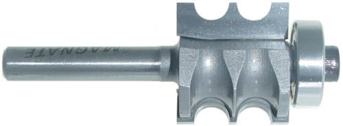 Magnate 6071 Double-Beading Router Carbide Tipped Bit - 1/8