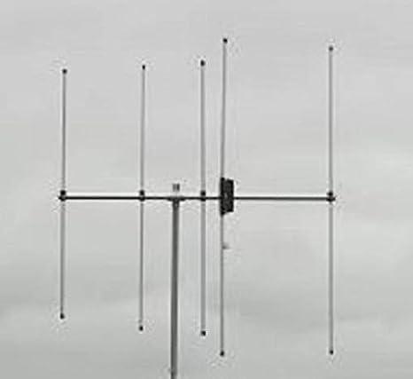 Diamond A-144S5R2 - Antena (5 elementos, 144 MHz ...