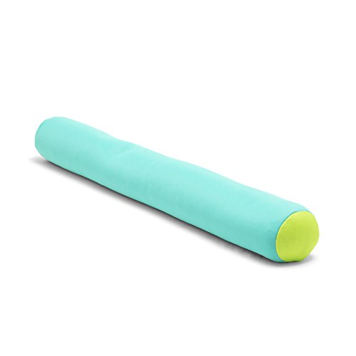 Big Joe Mesh Pool Noodle, Aqua with Green Ends (Ocean Blue Water Products Unsinkable Pool Float)