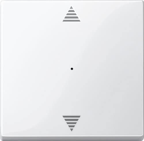 Merten 619419 Wippe für Tastermodul 1fach Pfeile Auf//Ab polarweiß System M