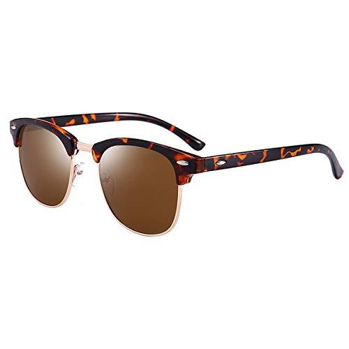 (BEEAN Polarized Sunglasses Trendy Stylish Cat Eye Sun Glasses for Women Men, Tortoise,)