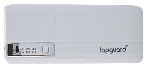 Lapguard LG515 Power Bank 13000mAh Make In India portable charger Powerbank -White-Silver