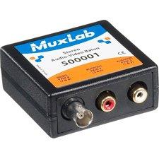 MuxLab 500001 Stereo Audio-Video Balun ()
