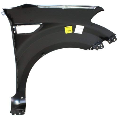 Front Fender Compatible with 2010-2012 Kia Soul with Molding CAPA Driver Side