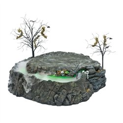 Department 56 Snow Village Halloween Foggy Point Platform