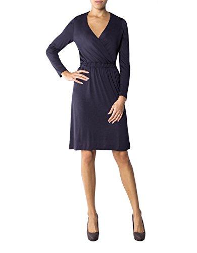 Gant Damen Kleid Viskose Dress Unifarben, Größe: L, Farbe: Blau