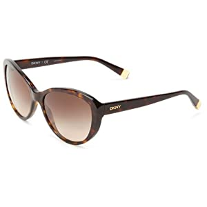 DKNY 0DY4084 301613 Cat Eye Sunglasses,Dark Tortoise,57 mm