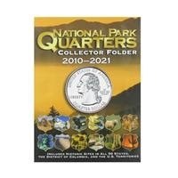 Single Mint National Park Quarters Folder