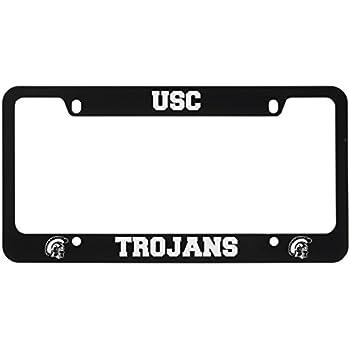 Amazon.com : Usc Trojans Metal Alumni Inlaid Acrylic License Plate ...