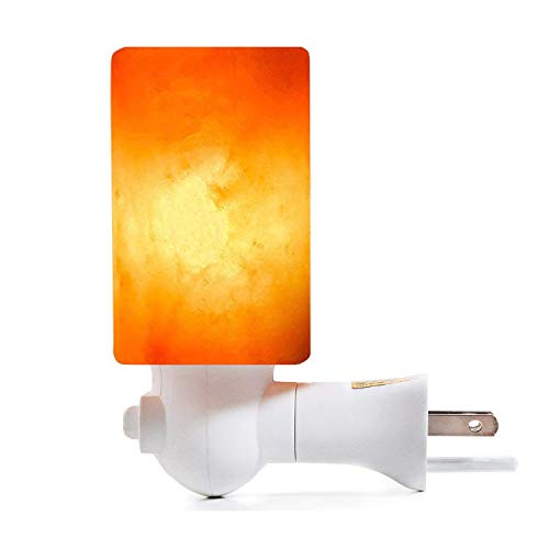 Salt Lamp Night Lights Wall Light for Home Decor, Air Purifying and Lighting