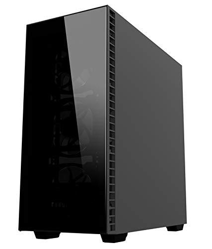Ankermann-PC Ryzen Performance Gamer PC, 24 Meses de garantía, Ryzen 5 1600X 6x3.6GHz, GeForce GTX 1060 6GB 4K, 16GB RAM, 240GB SSD, 1TB HDD, Windows 10 Pro ...