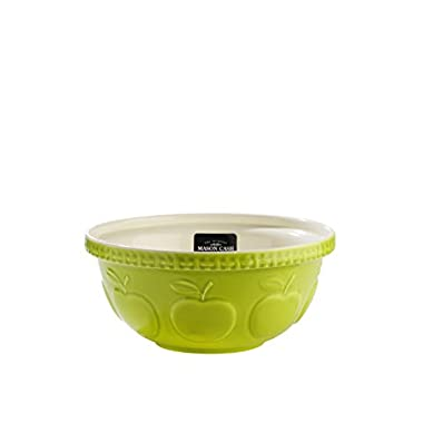 Mason Cash Zest Mixing Bowl, Apple, 4.25-Quart
