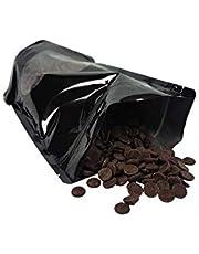 Legendary - it's all about beans en Callebaut CALLETS DONKER Originele pastilles, druppels pure Belgische chocolade, ideaal voor warme chocolademelk en nog veel meer. DONKER 250 gr