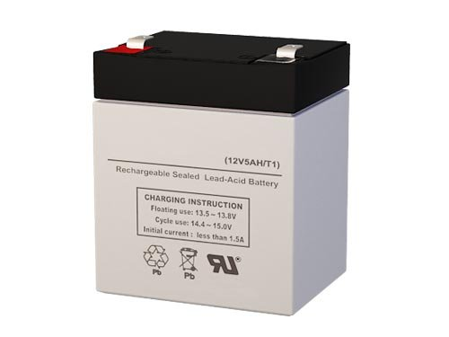 12V 5AH Rechargeable Sealed Lead Acid Battery SigmasTek 1250
