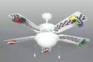 race car ceiling fan - 1