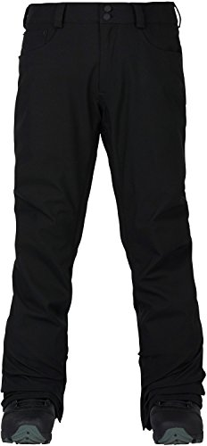 Burton Men's TWC Greenlight Pant, True Black, (Vent Shell Snowboard Pants)