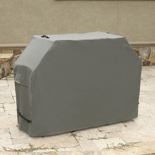 "Kenmore Elite Gunmetal Gray Grill Cover- 65"" x 26"" x 46"""