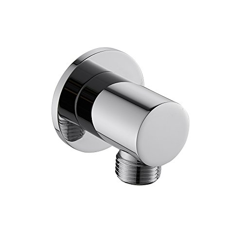 Weirun Bathroom Round Shower Hose Connector 1/2