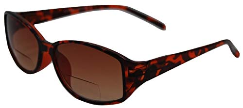 In Style Eyes Stylish Bifocal Sunglasses/Tortoise/3.25